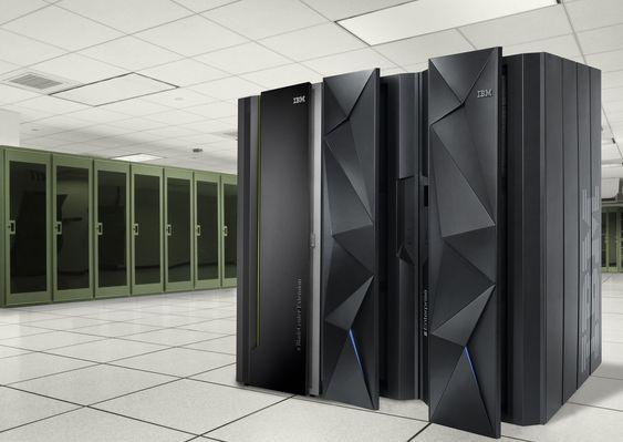 IBM stormaskin er selve hjertet i Evrys drift av banktjenester. Svikt i en sentral komponent her får skylden for tirsdagens krasj.