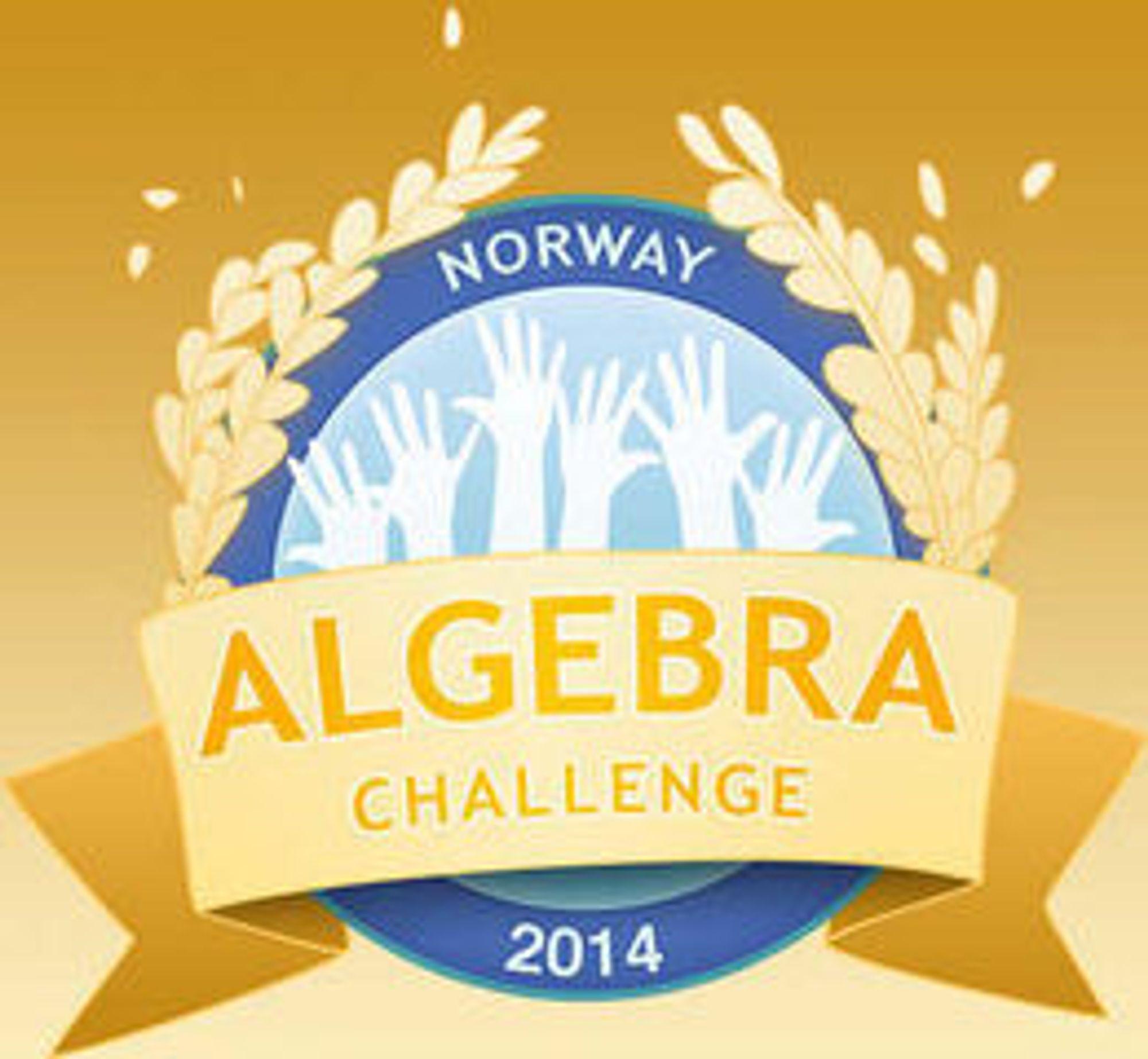 Algebra Challenge Norway engasjerer 40 000 elever på alle trinn. Konkurransen bygger på det norskutviklede spillet DragonBox, og avsluttes fredag ettermiddag.