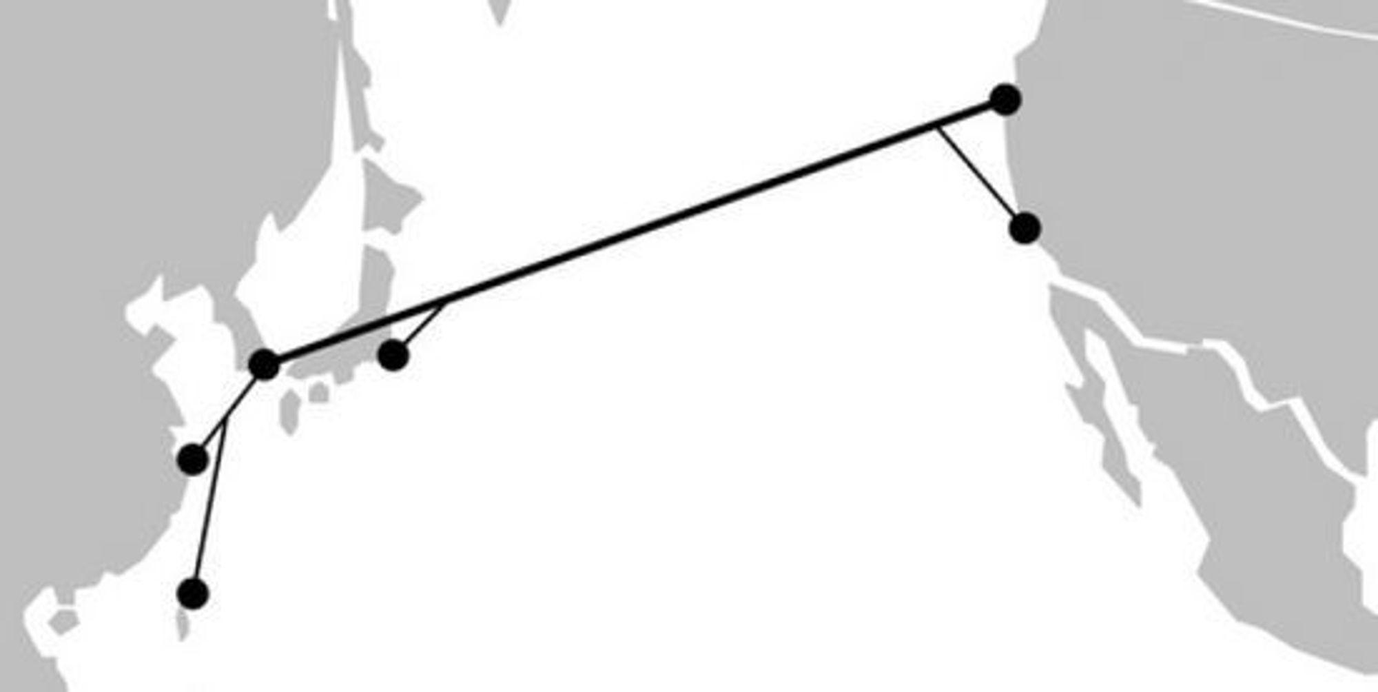 NCP (New Cross Pacific) skal være operativ i fjerde kvartal 2015.
