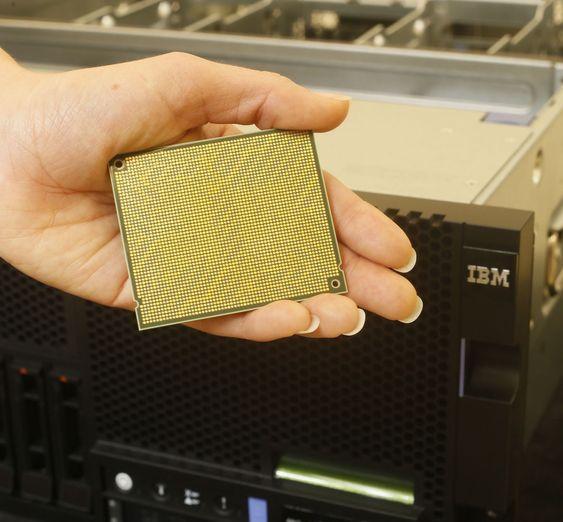 IBMs POWER8-prosessor.