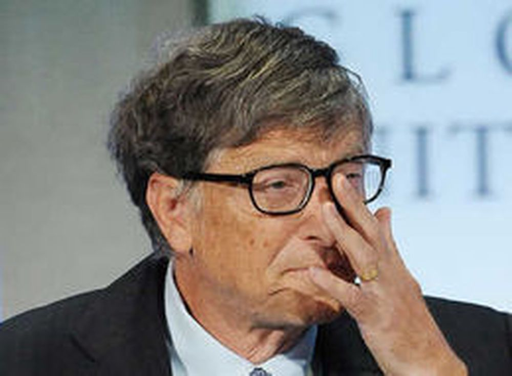 Microsofts medgründer Bill Gates (bildet) støtter FBI.