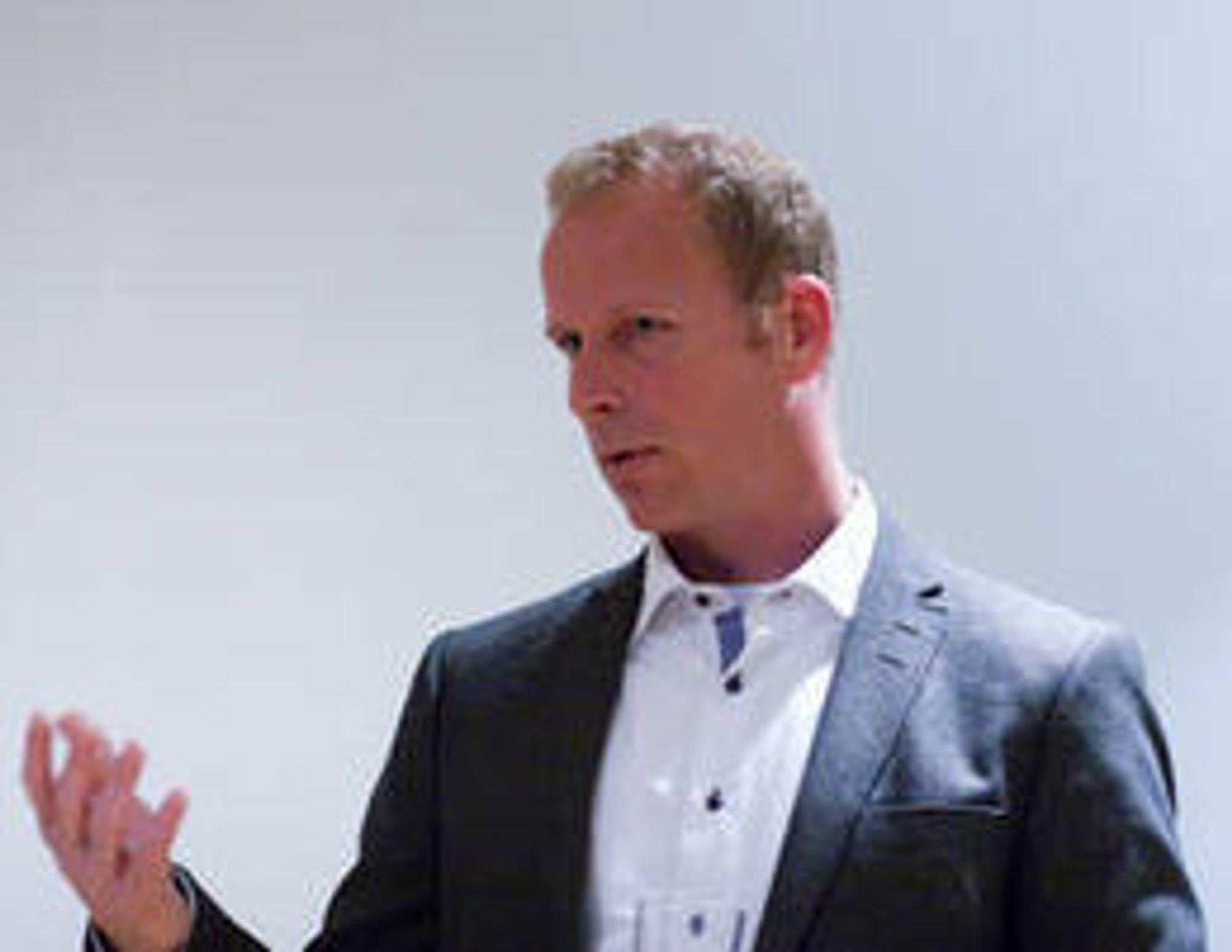 Rådgiver Ole-Erik Thornquist i IT-bedriften Skill.