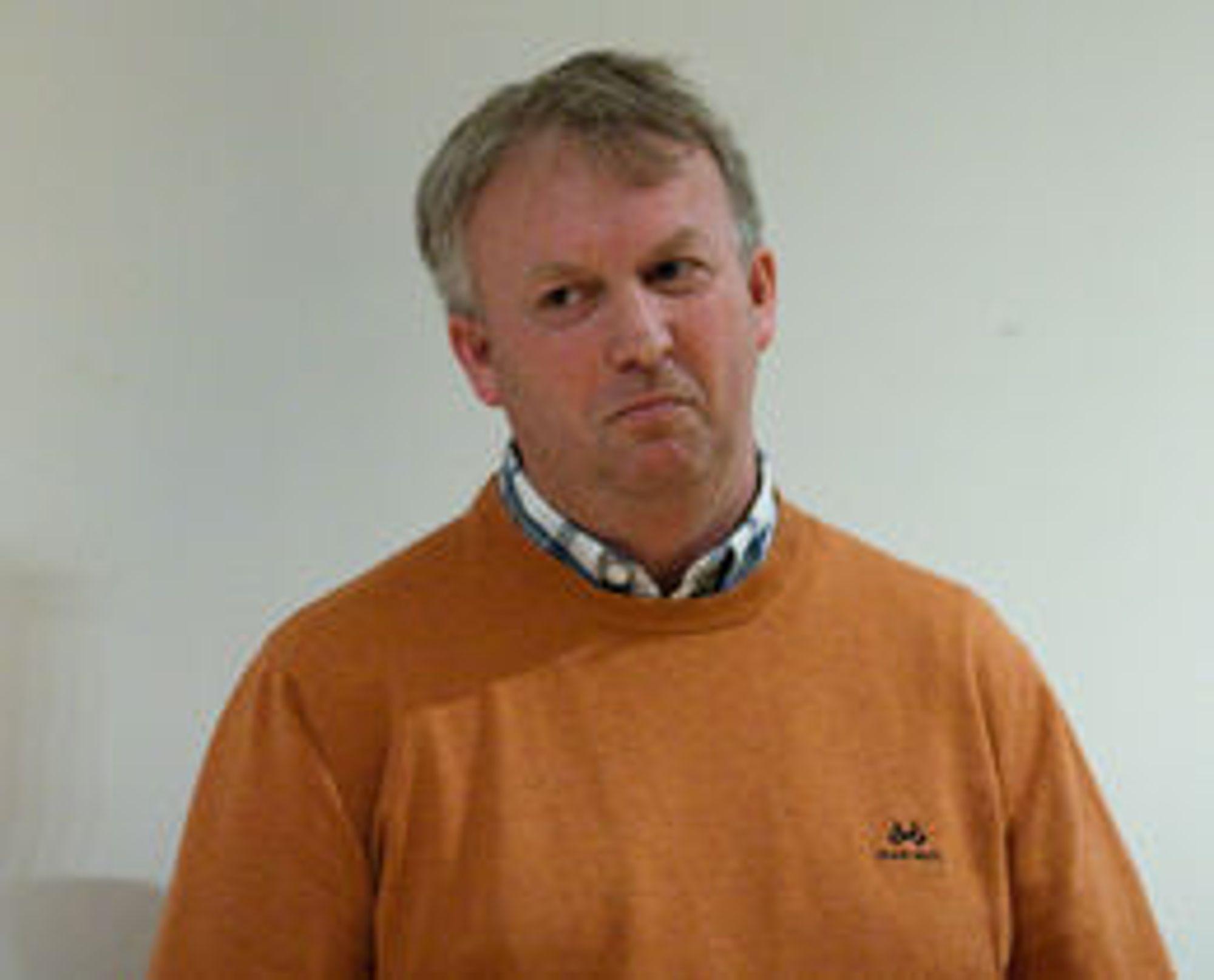 Terje Jensen i Moss kommune føler seg trygg på leverandørvalget, og valget av skymodellen.