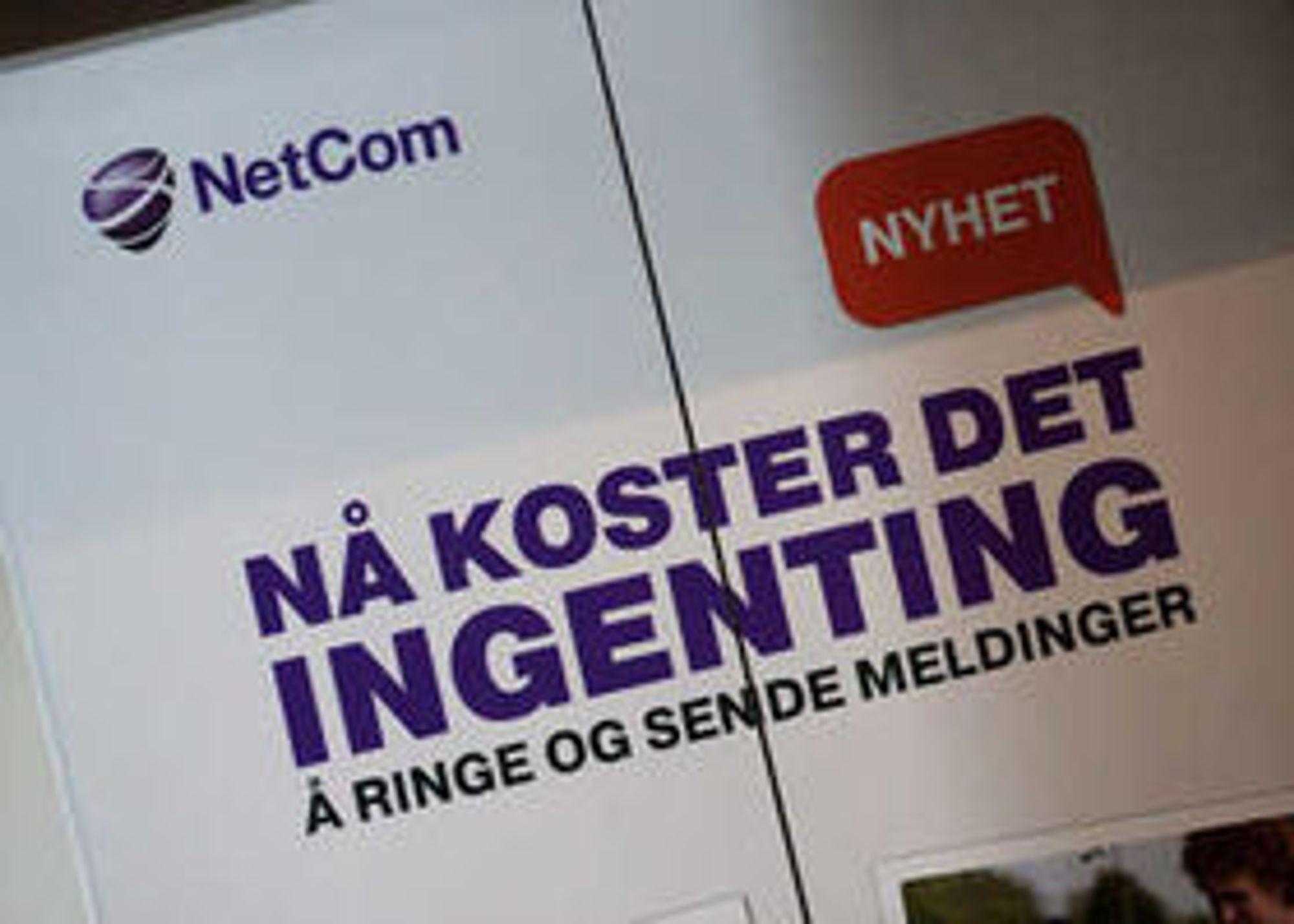 Nyheten preget heisdøren til Netcom allerede før pressekonferansen tok til.