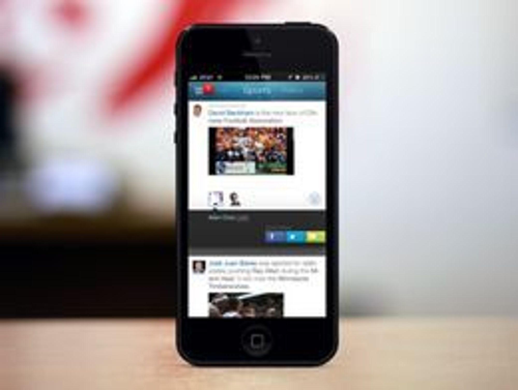 Wavii gir tilgang også til bilder og video.