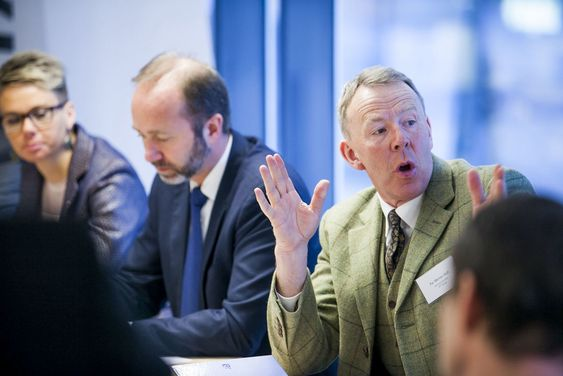 Per Morten Hoff, Generalsekretær i IKT-Norge, var meget fornøyd med at IT-bransjen blir hørt av næringsministeren.