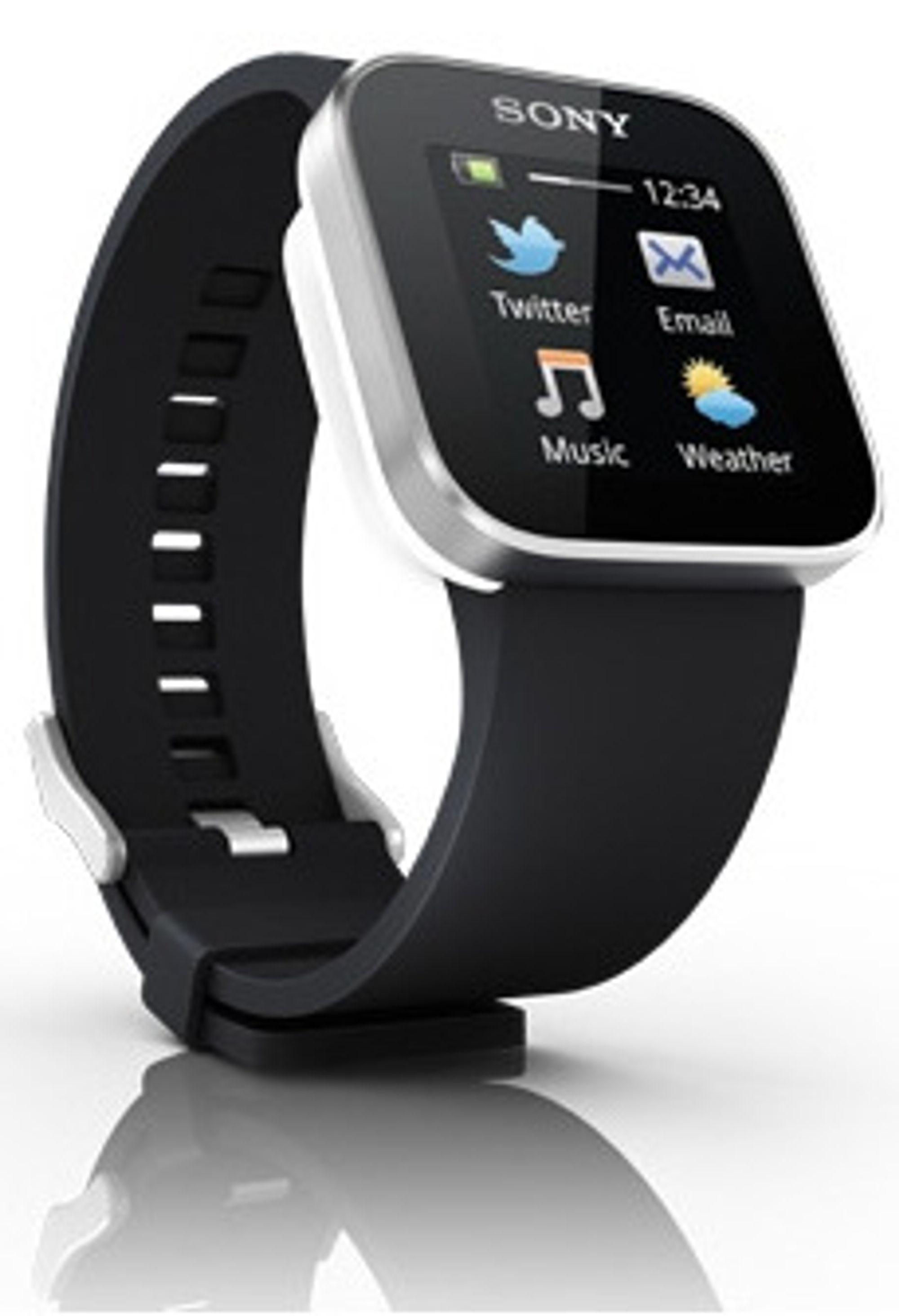 Sony lanserte sin SmartWatch i januar 2012.