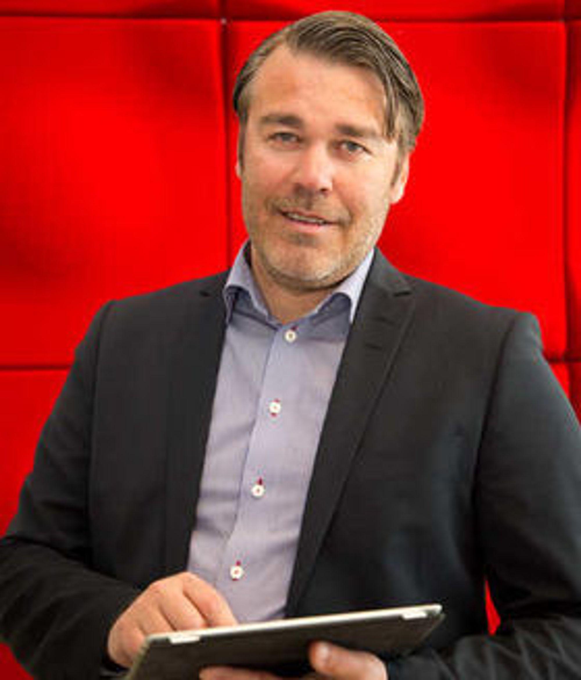 Johan Zetterstrøm er sjef for svenske Projectplace.