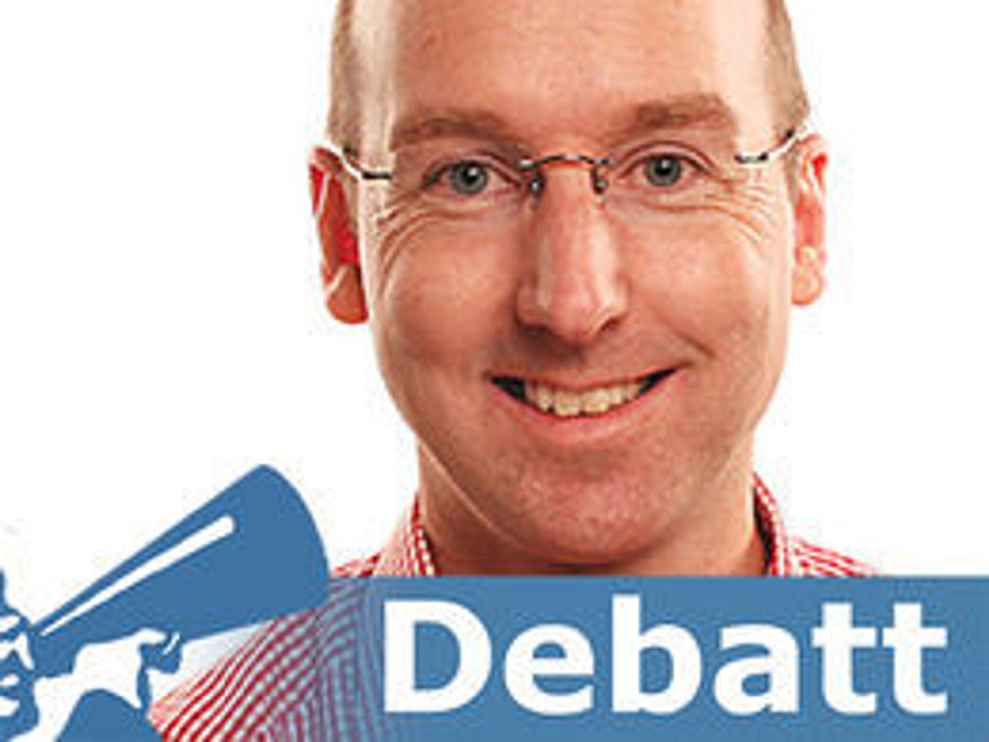 Kronikkforfatter Finn Edvardsen er senior manager i Deloitte Norge