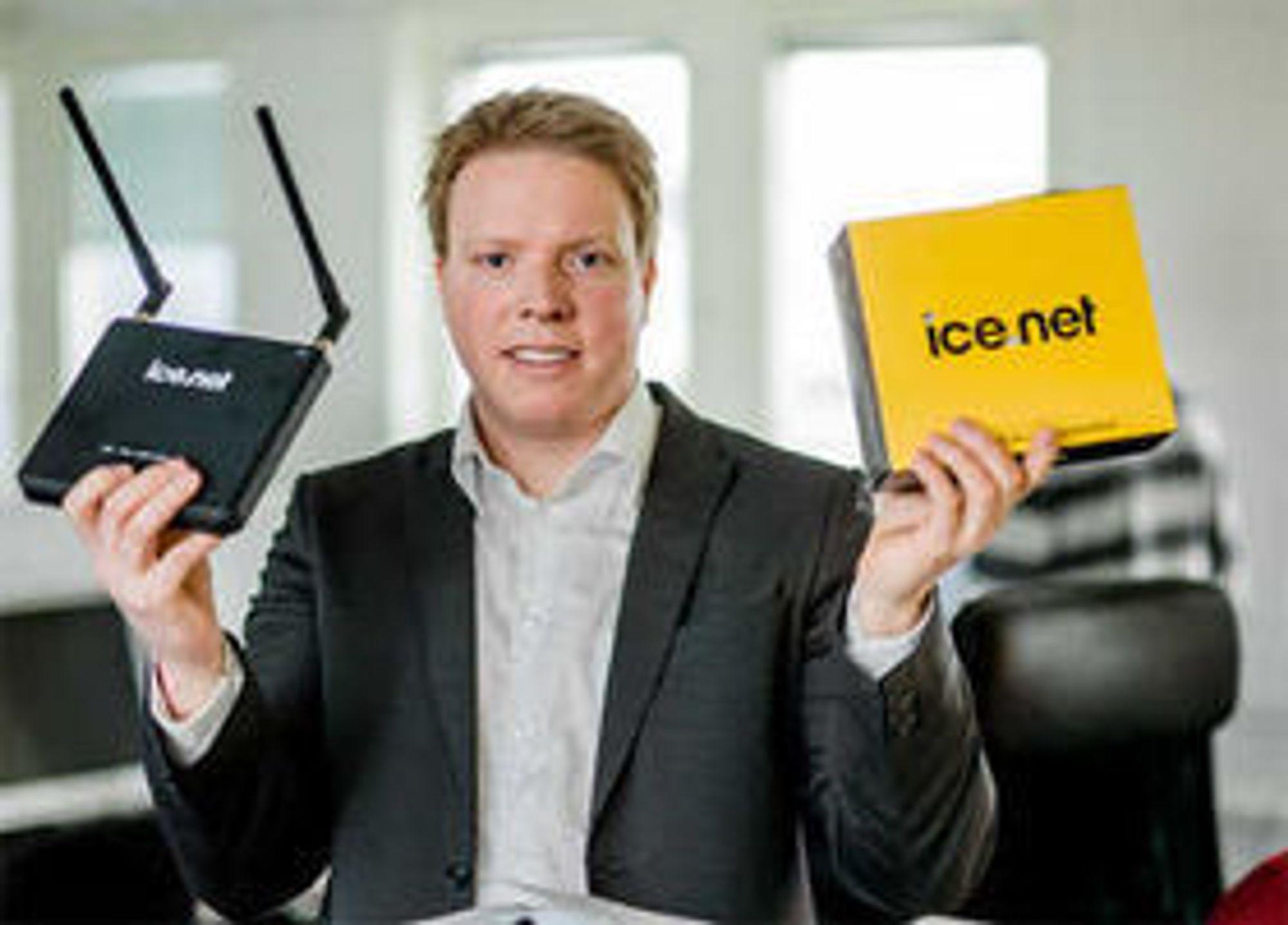 EIvind Helgaker i Ice skal lansere nytt 4G-mobilnett i Norge neste år. Og gjør det over flere frekvenser enn det Netcom og Telenor kan.