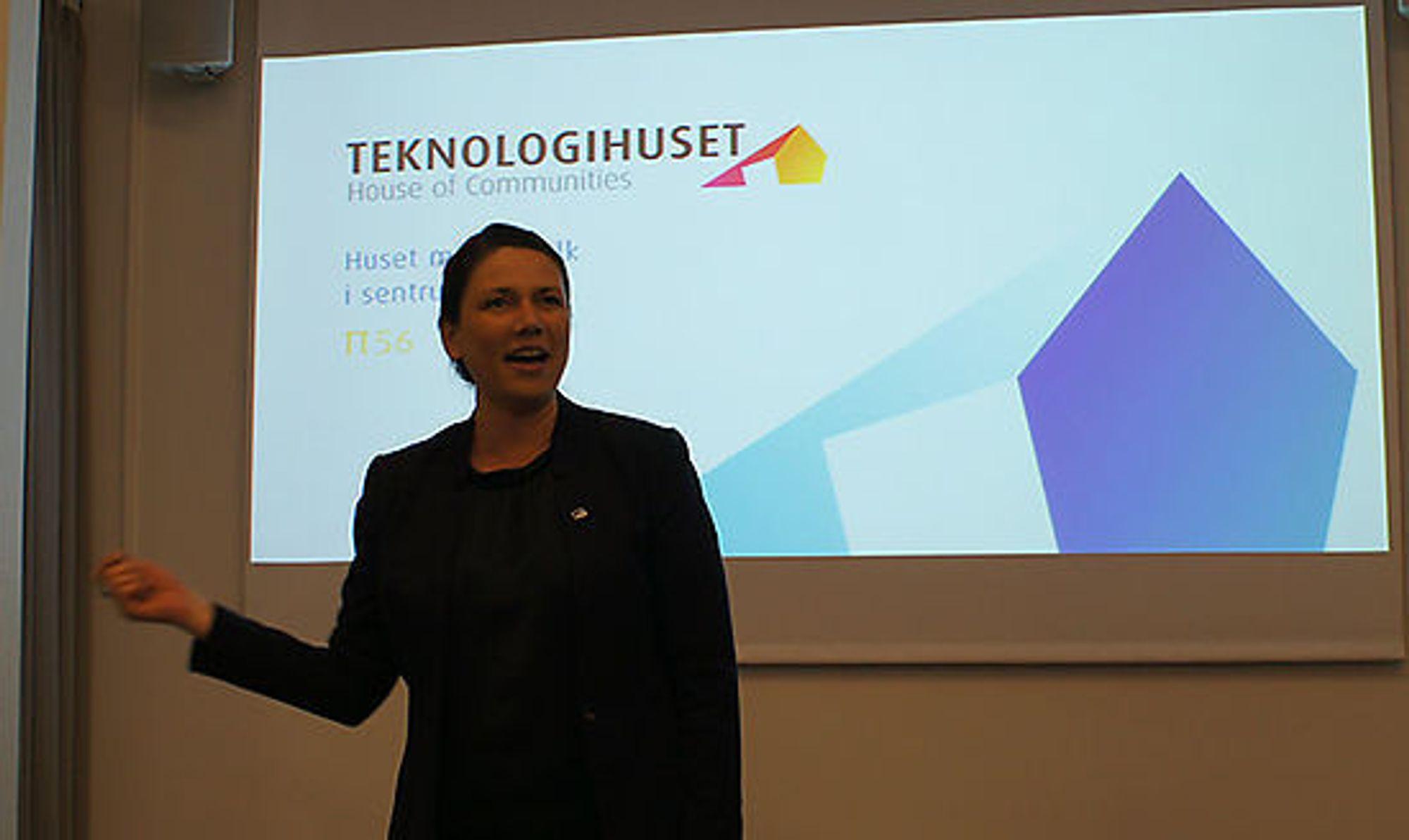 - Stortingsrepresentanter må forstå hva næringslivet er, sa Høyres Heidi Nordby Lunde
