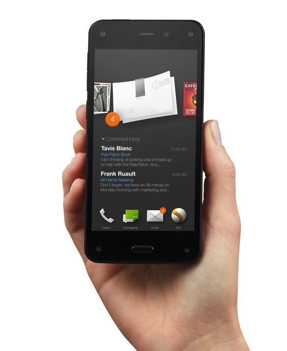Fire Phone har et eget grensesnitt som kjører oppå Android.
