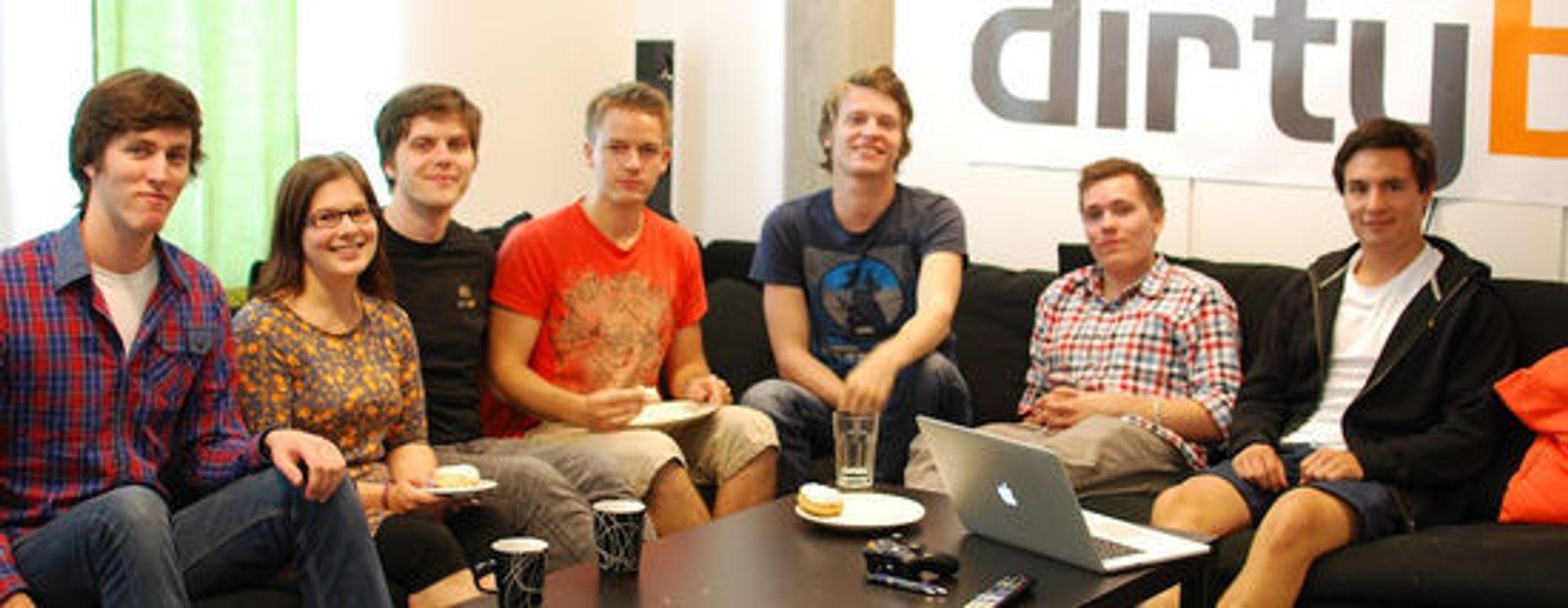 Teamet bak Fun Run, Trondheimsbaserte Dirtybit, har hatt stor suksess. Til høsten lanserer de et nytt spill til smarttelefoner.