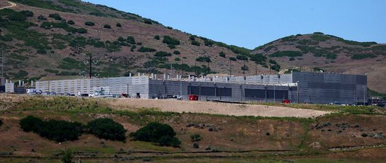 NSAs kommende datasentral i Bluffdale, Utah.