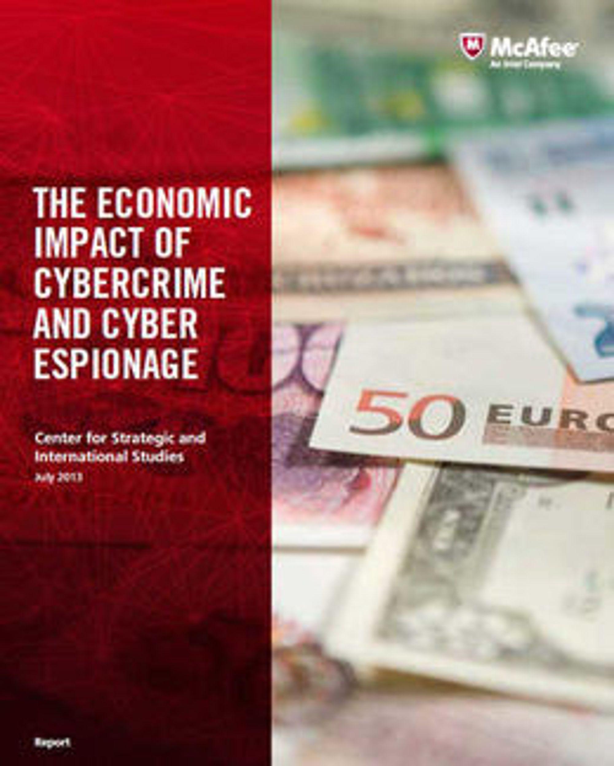 Rapporten kan være startskuddet for mer realistiske økonomiske analyser fra IT-sikkerhetsbransjen.