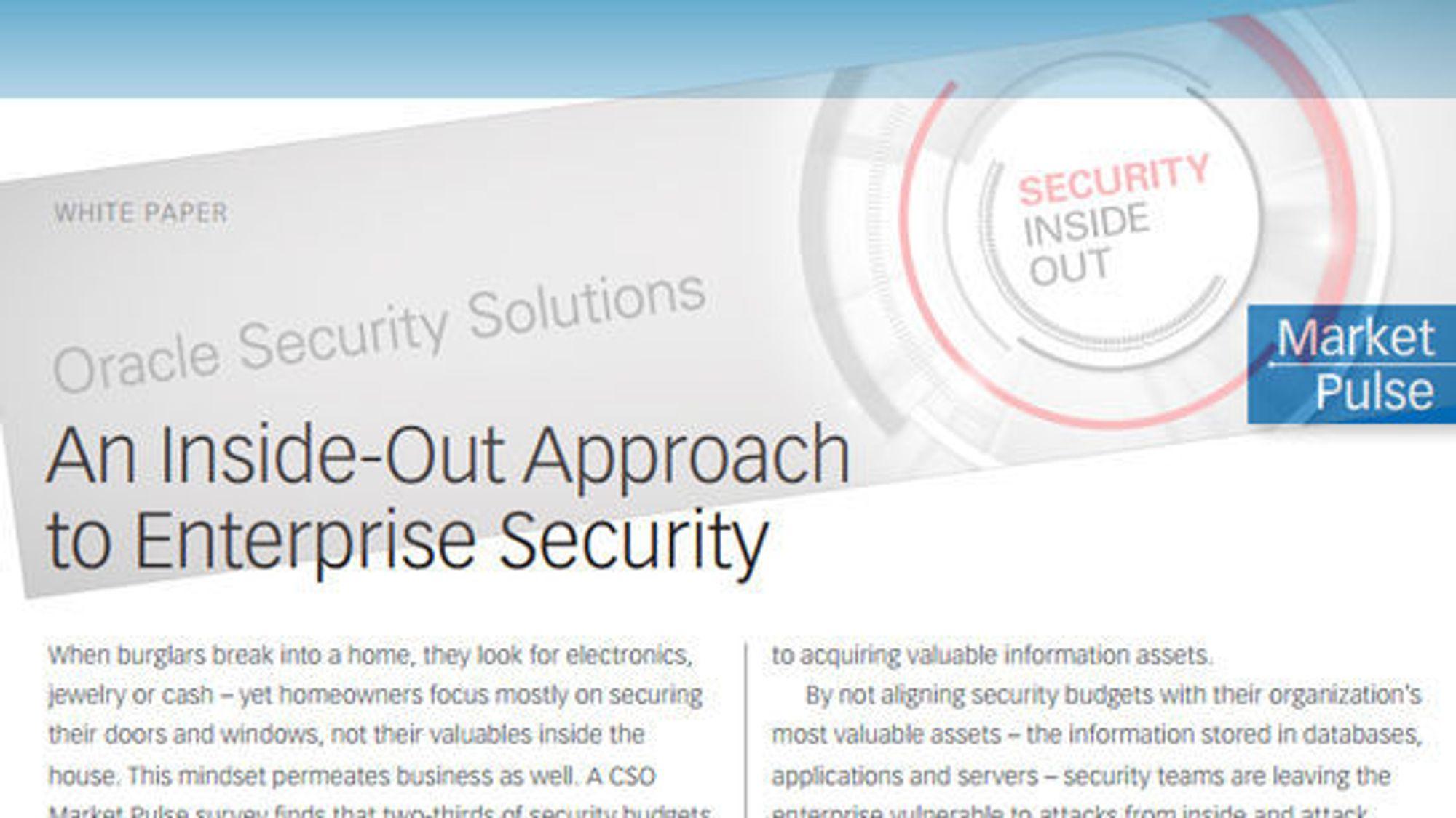 Oracles utredning anbefaler å starte med sikkerhetstiltak innenfra.