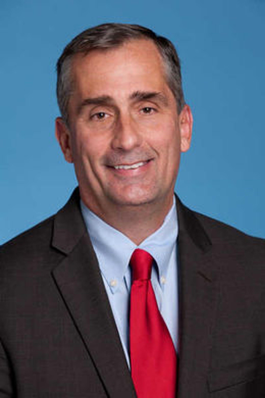 Brian Krzanich (bildet) overtok i mai som Intels toppsjef etter Paul Otellini. Utfordringene står i kø, men Krzanich forsøker å være optimist.