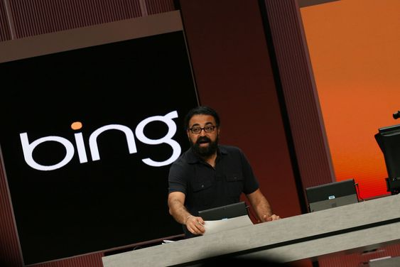 Gurdeep Singh Pall er Microsofts direktør for Bing.