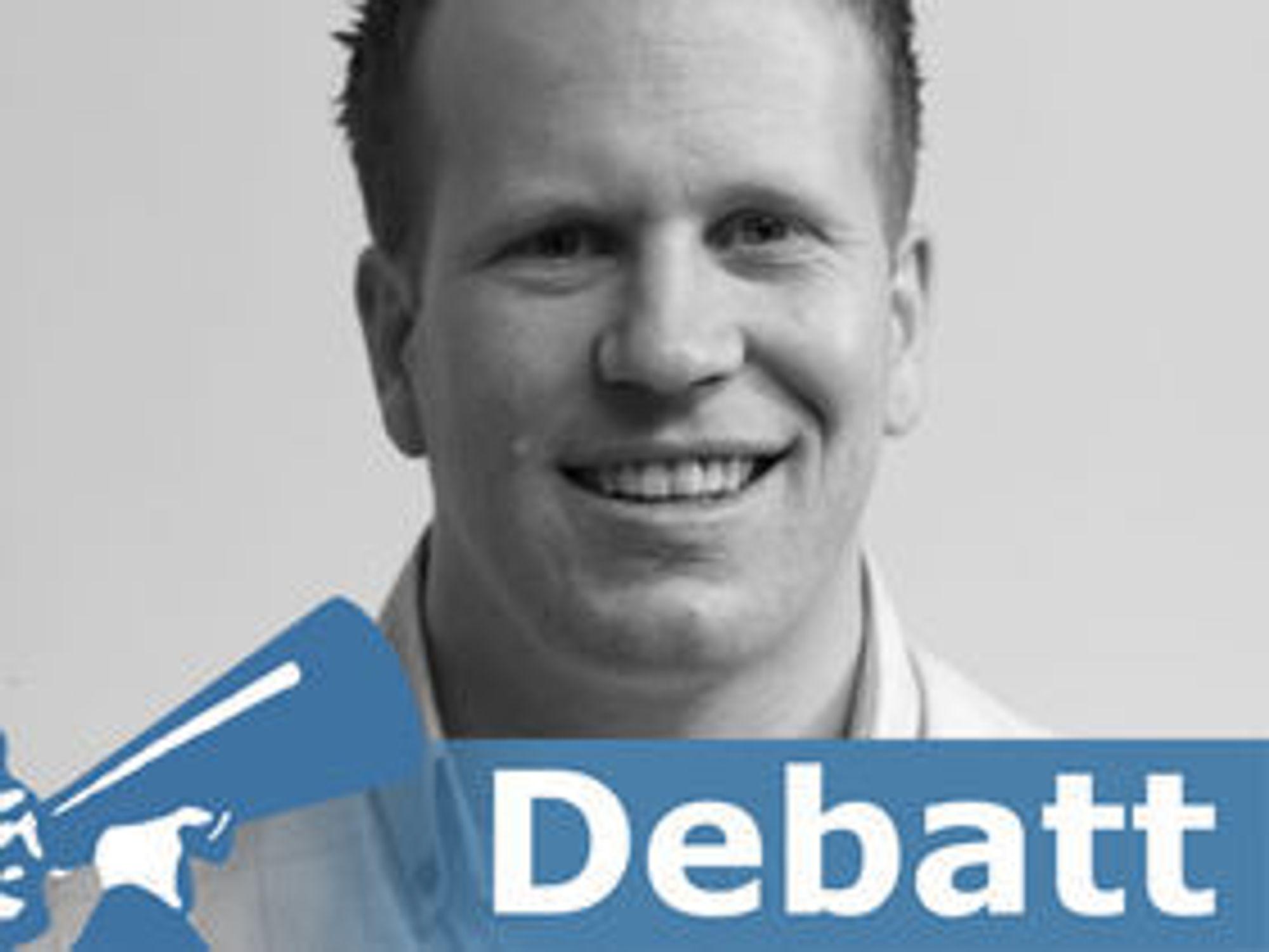 Eivind Jonassen er daglig leder i SimCom AS og selger til daglig UC-løsninger til bedriftsmarkedet.
