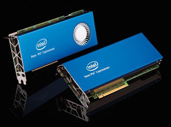 Første generasjon av Intel Xeon Phi.
