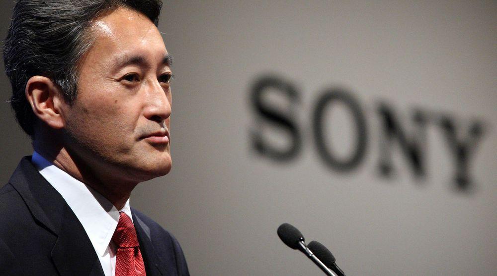 Det går forhåpentligvis mot lysere tider for Sony. Avbildet: toppsjefen Kazuo Hirai.