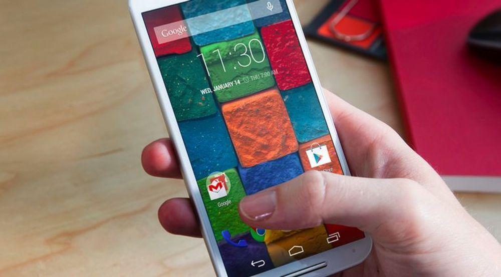 Salget av Motorola-mobiler øker takket være Lenovo-oppkjøpet.