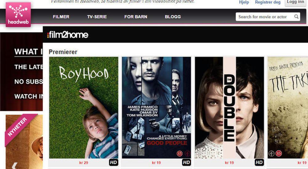 Film2Home overtar kundene til Headweb og skal lansere en helt ny tjeneste for strømmet film.