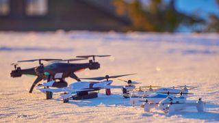 Disse billige dronene lar deg se det du filmer i sanntid