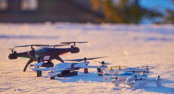Droner med FPV-funksjonalitet