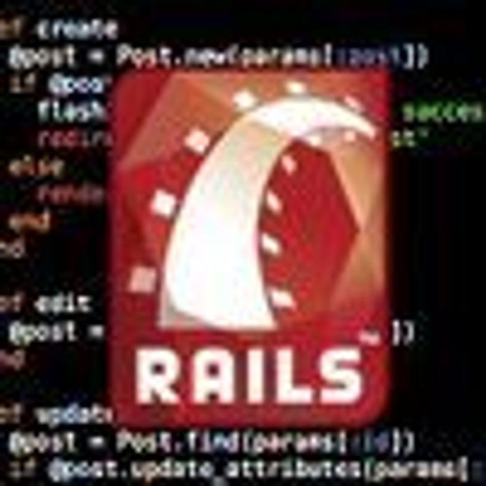 Lover mer produktiv webutvikling med Ruby
