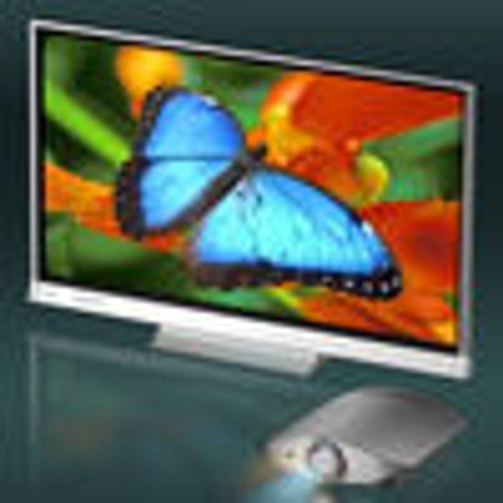 Vil utfordre LCD og plasma med laser-tv