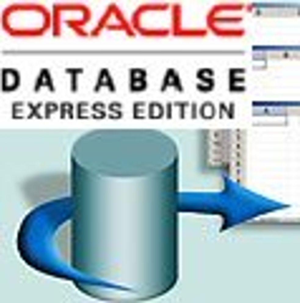 Oracle klar med gratisdatabase