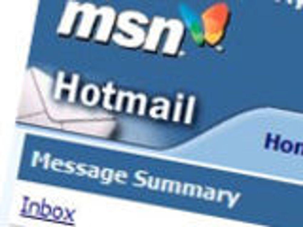 Hotmail avslører mye om avsenderen