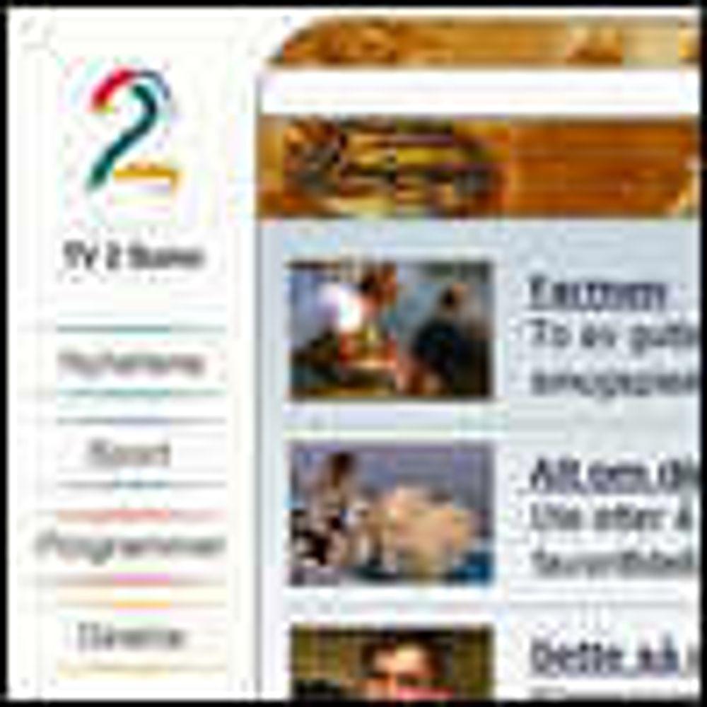 God start for TV2s salg av TV over nett