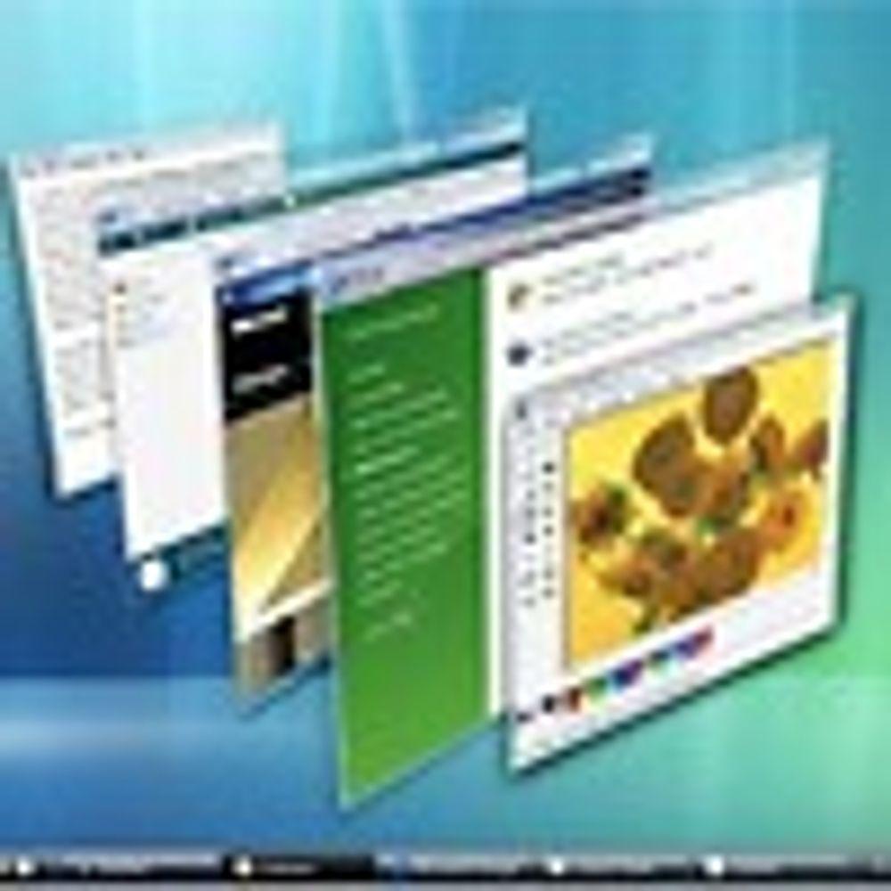 Vista stopper mange populære programmer