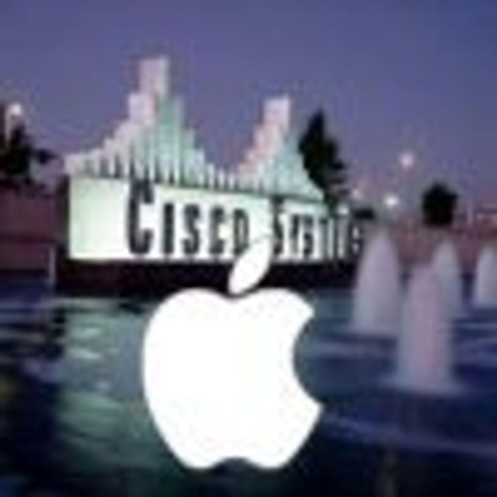 Mulig iPhone-fred mellom Apple og Cisco