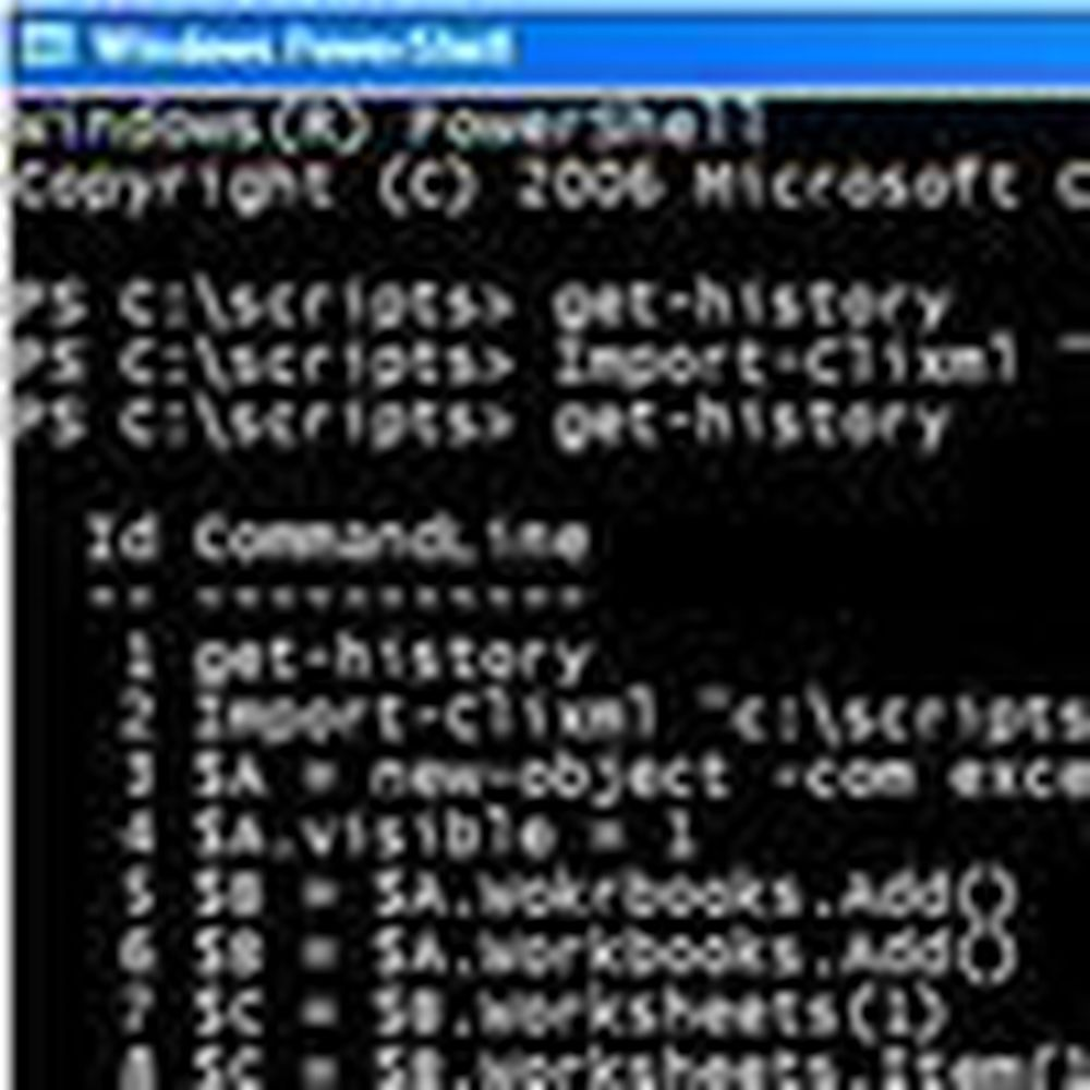 PowerShell omsider klar for Vista