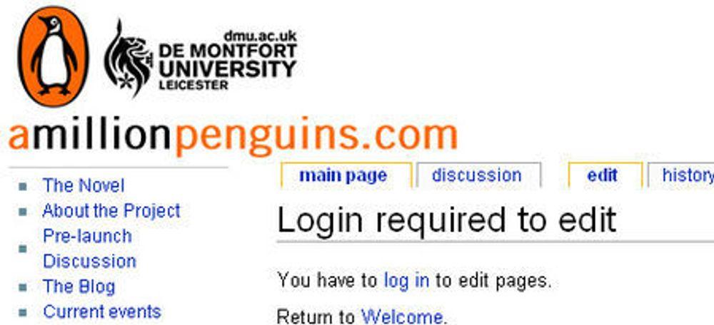 Penguin wiki bok