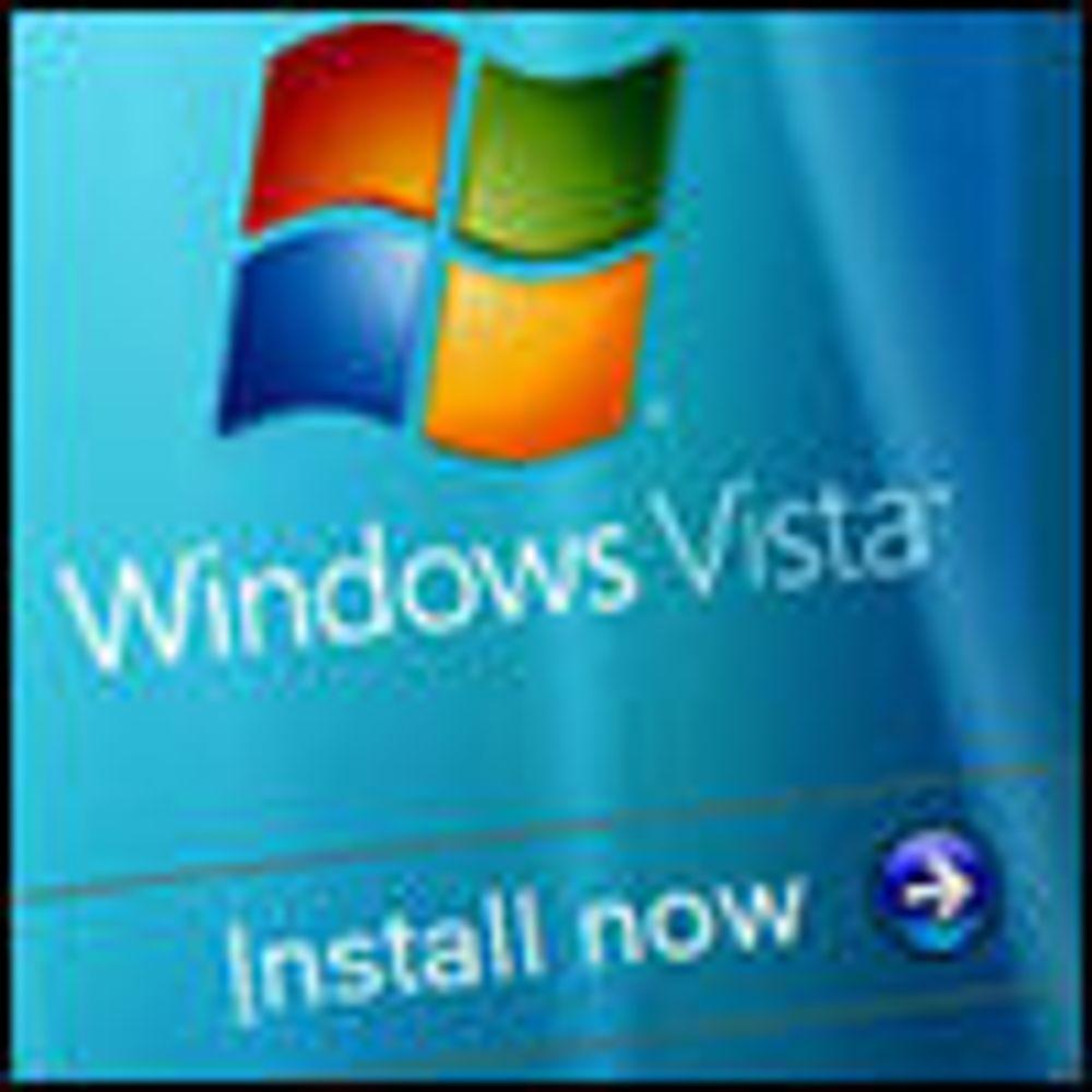 Begrenset PC-utbygging med Vista OEM-lisens