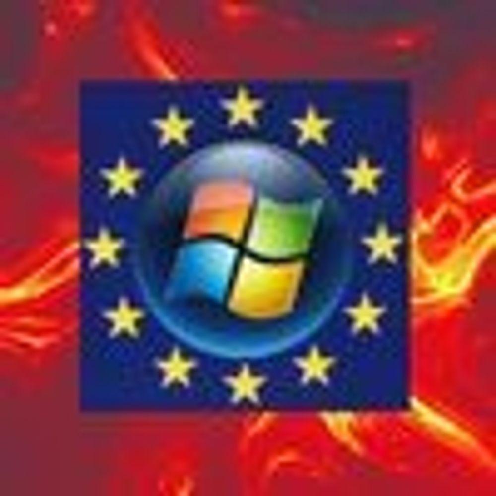 EU gikk med på utsatt frist for Microsoft