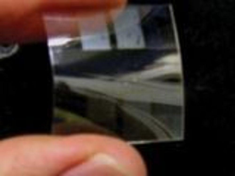 Tynn plastfilm kan brukes som batteri