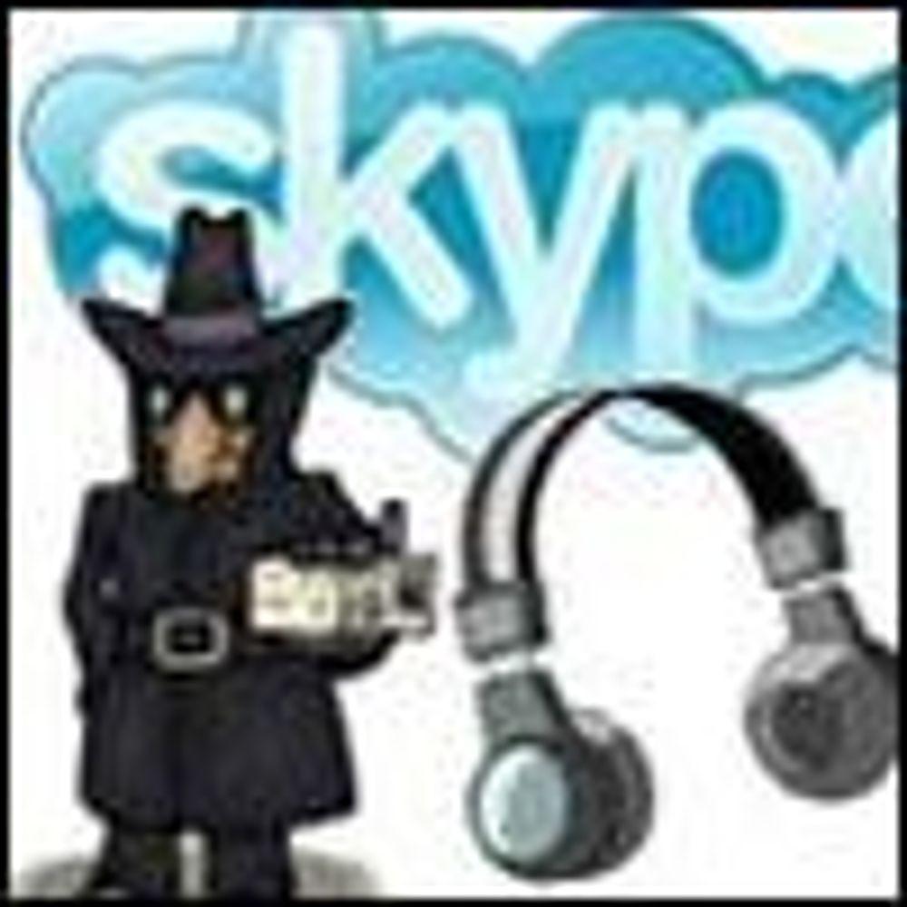 Trojaner angriper naive Skype-brukere