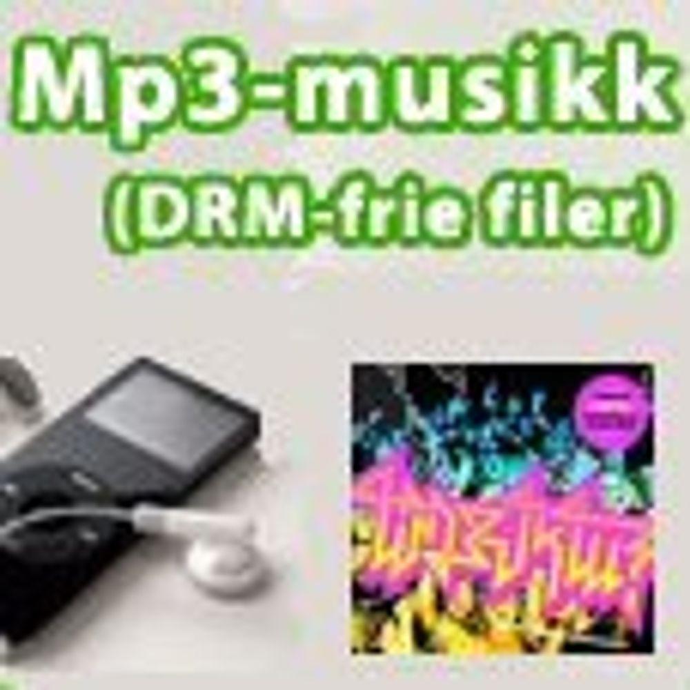 Mange vil kjøpe musikk i MP3-formatet