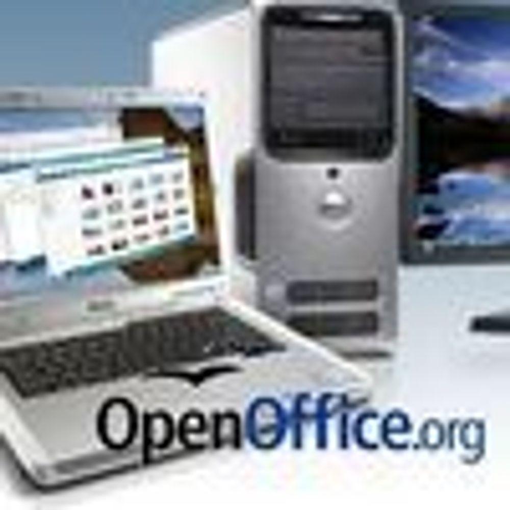 Sterk framgang for OpenOffice i Norge