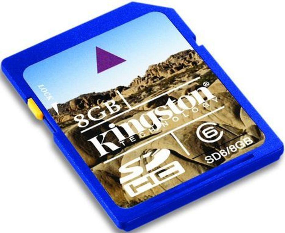 SanDisk slått av Kingston på minnekort