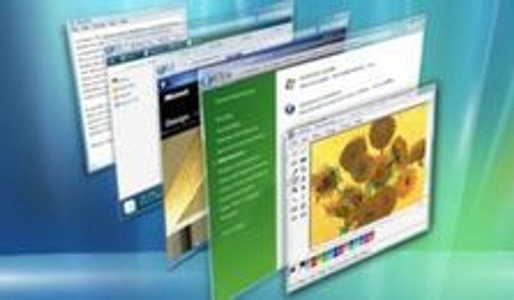 Windows Vista betyr lite for PC-salget