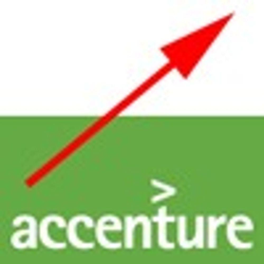 Accenture fortsetter med tosifret vekst
