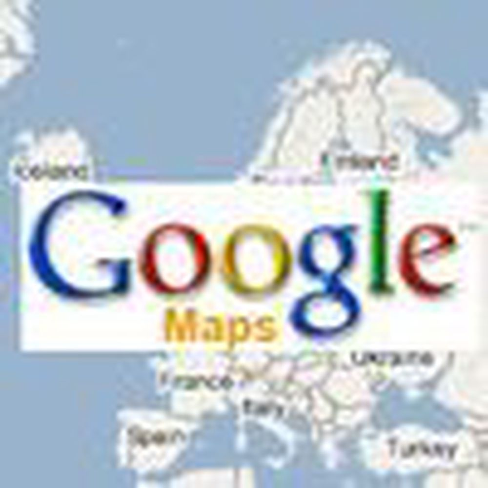 Google åpner norsk utgave av karttjeneste