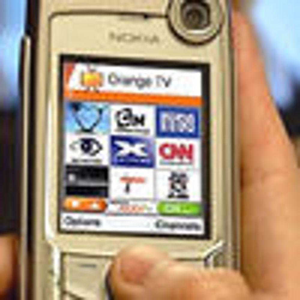EU vil bruke Nokias mobil-TV-standard