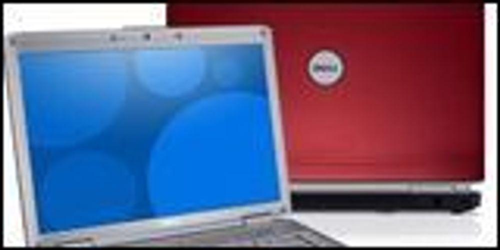 Fargerike bærbare fra Dell